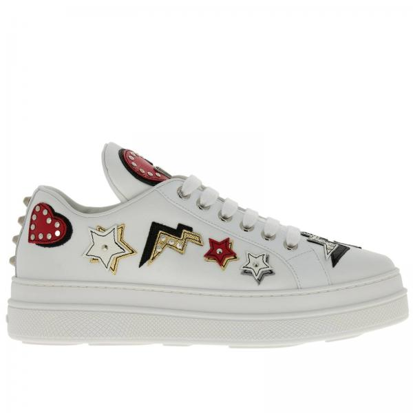 779c6b77c9a4 Prada Women s White Sneakers