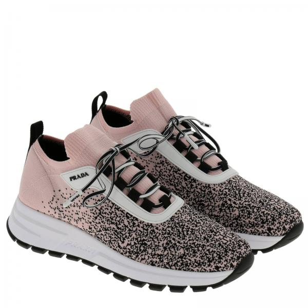 Prax Jacquard 01 A Sfumato Effetto Tessuto Slip In Sneakers Calza Knit Con On N0myvnw8O
