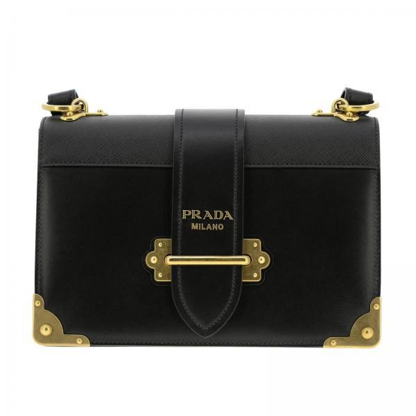 65c7813acfe2e Prada Women s Black Crossbody Bags