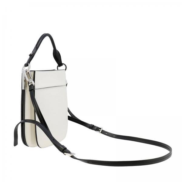 Sacca Mini Pelle 2aix Effetto Logo A In Con Donna Bicolor Borsa 1bc082ooh Monochrome PradaMargit Small 8Owkn0P