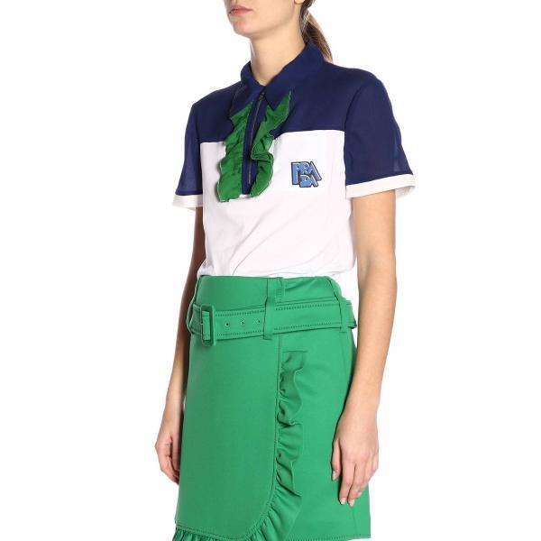verano Mujer Prada 2019 Primavera 1s2wgiglio 35985 Camiseta XSdw1S