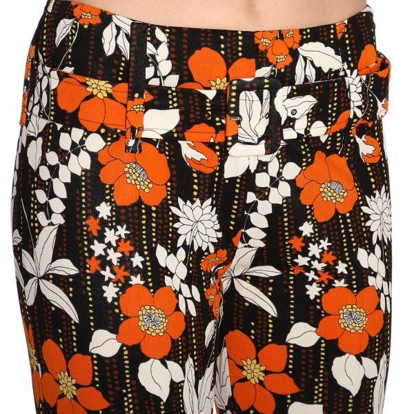 A Prada In By Floreale Stretch Jersey Pantalone Fantasia Yfy6g7bv