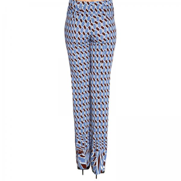Stretch Pantalone By Fantasia In A Prada Floreale Jersey IfgY6mb7vy