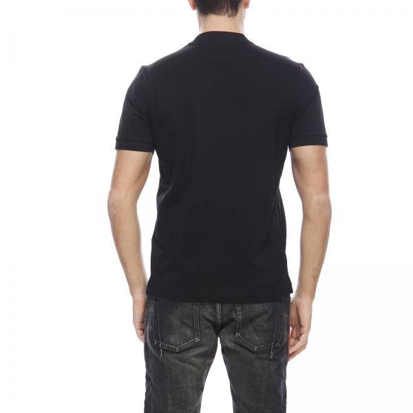 Uomo Basic Logo T Corte shirt Ujn452 Xgs Con Mini PradaA Maniche Stretch Triangolare RjL5c4Aq3