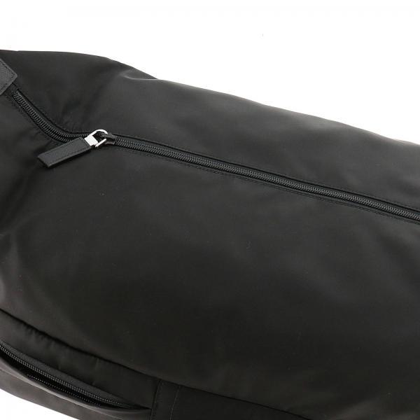 Fibbia Prada Nylon NeroLarge Triangolare Pelle In Uomo Con Zaino 2vz028ooo Saffiano Logo 973 Maxi E n0k8XwOP