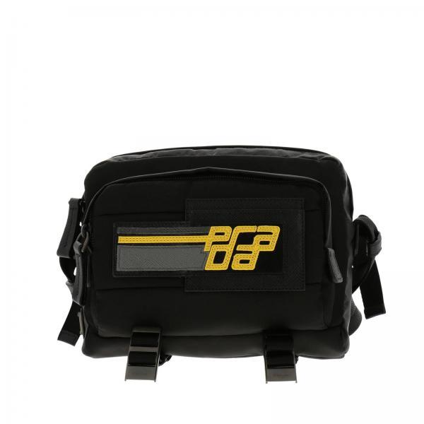 293724ba9d3a Prada Men's Black Shoulder Bag | Bags Men Prada | Prada Shoulder Bag ...