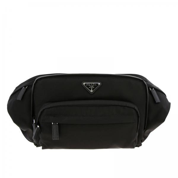 Prada Men s Black Belt Bag