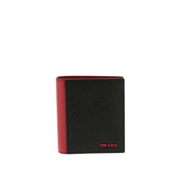 1cb70e9b876e Prada Men's Black Wallet | Wallet Men Prada | Prada Wallet 2mo004 ...