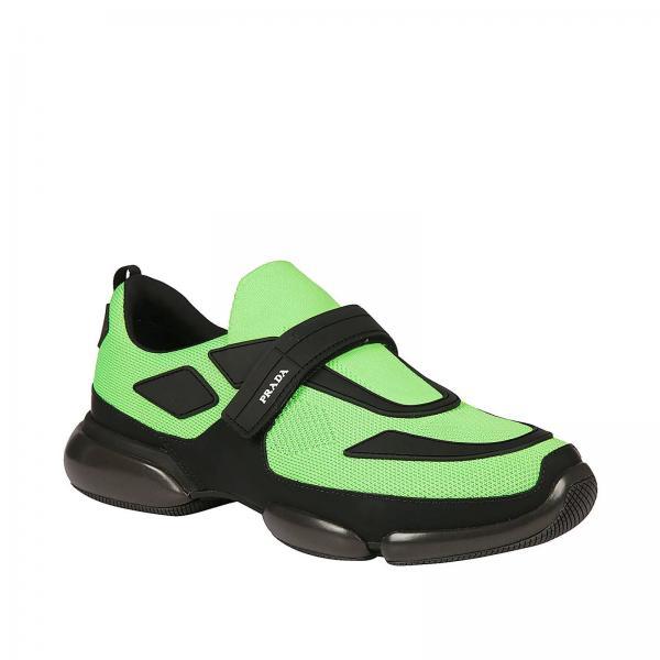 E Maxi Fibbia Con Tessuto A Strappo Tecnico Suola By Gomma Prada In Sneakers Clodbust kZiXPuO
