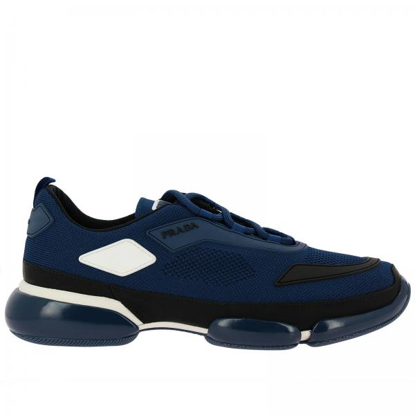Gomma Clodbust Tecnico Sneakers In Con Prada Tessuto E Logo 8nwPkNX0O