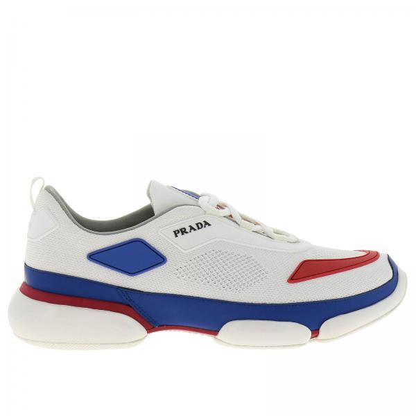 Sneakers Uomo Prada | Sneakers Clodbust In Tessuto Tecnico E Gomma Con Logo Prada | Sneakers Prada 2eg253 2odb