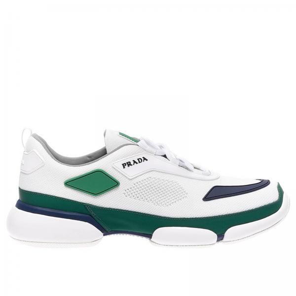 Sneakers Clodbust in tessuto tecnico e gomma con logo Prada