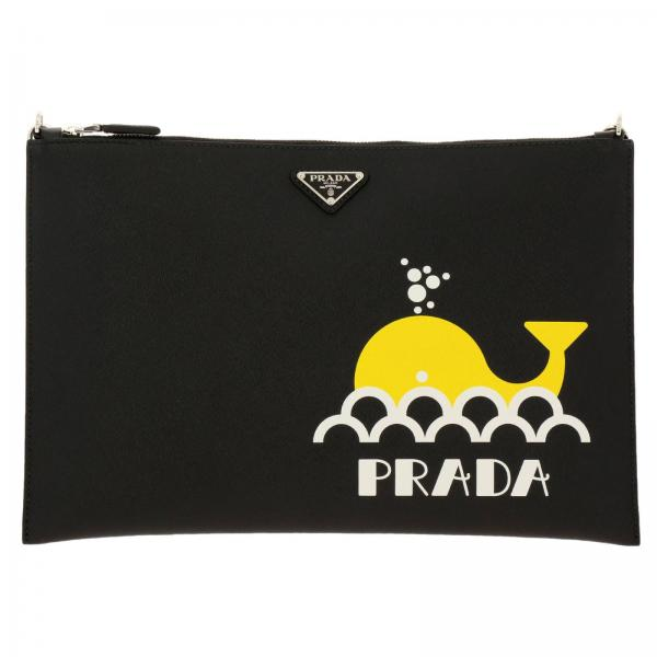 Porte-document Prada