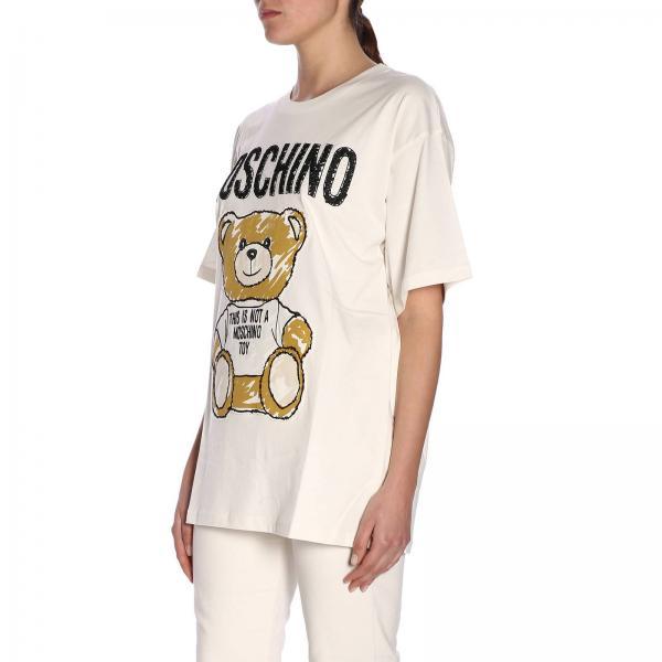 Primavera 2019 Couture Moschino Mujer 0710 Camiseta verano 440giglio Ew0XqFZp