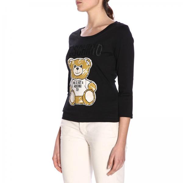 Mujer Couture Primavera 2019 verano Camiseta 440giglio 0706 Moschino gq6xZEWdf