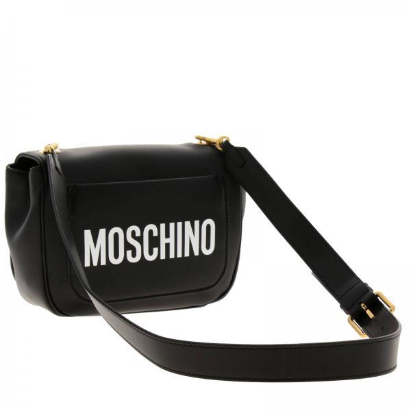 Primavera 2019 7555 verano Negro Bandolera Moschino 8021giglio Couture Mujer qYTgwa8