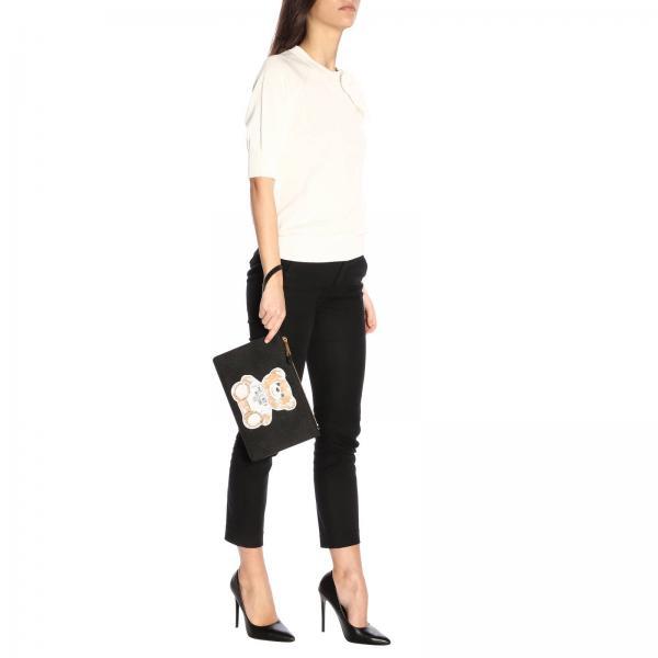 Clutch Mujer verano 8210giglio Couture Moschino 2019 Negro Primavera 8444 q4dFrqcRwx