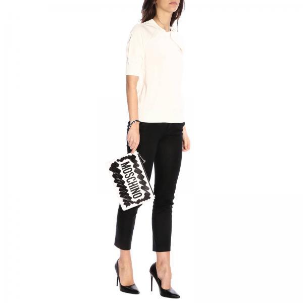 Primavera 8434 8001giglio 2019 Couture Mujer Moschino verano Clutch 4UXqRaa