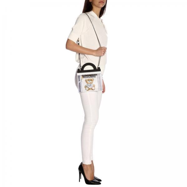 verano Transparent Couture 2019 8223giglio Mujer De Primavera Moschino Mano 7584 Bolso q1wUzXPP