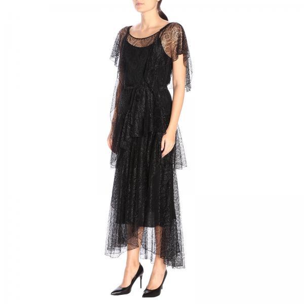 Vestido Primavera 0439 539giglio verano Couture 2019 Mujer Moschino Bq7wrB