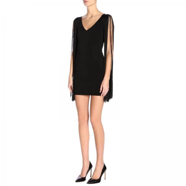 Moschino Frange Couture Con A Abito Maniche Tubino Di v0OnN8wPym