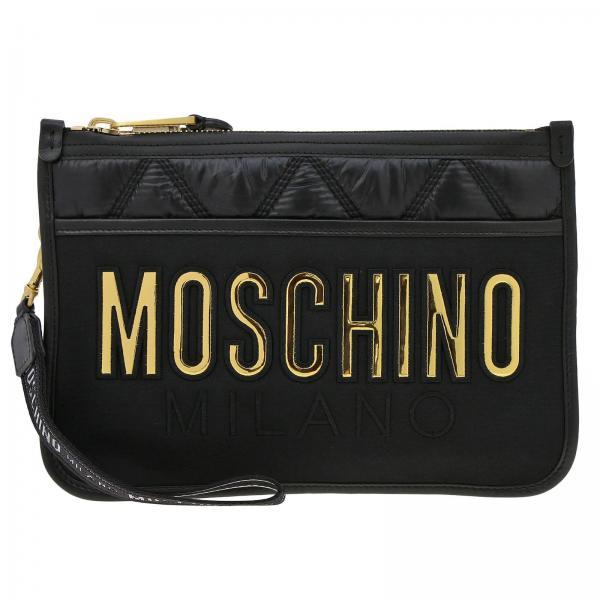 Mujer Clutch verano Moschino Negro 8401 Primavera 2019 Couture 8207giglio d0SPxq0