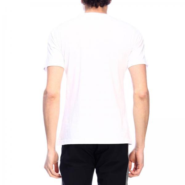 T Con A Maniche Hydrogen Corte shirt Teschio Maxi Stampa Nw80OnXPk