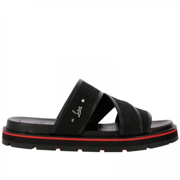 newest 82403 3bc45 Sandals Shoes Men Christian Louboutin