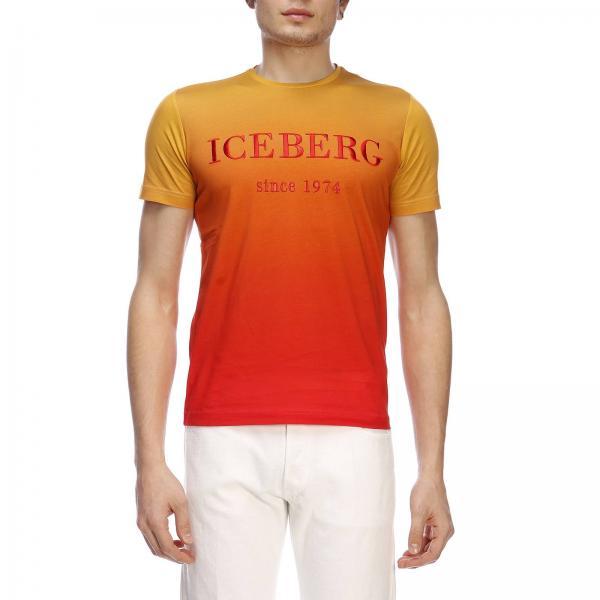 Maniche Maxi A T Tessuto shirt Corte Iceberg Degradè 1974 In Stampa Con OXTuiPkZ