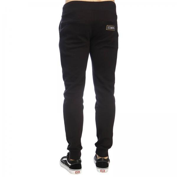 Jogging Con Pantalone Logo Maxi Iceberg qVUpzGLSM