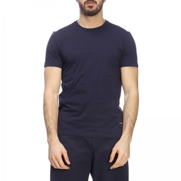 Uomo PecoraMaglia Girocollo T shirt 6319 Maniche A F201 Basic Paolo Corte Y6vf7ybg