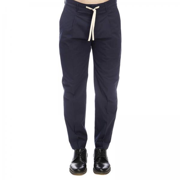 Light Cotone Pantalone Pecora Con Paolo Coulisse America E Tasche In 4L5jAR