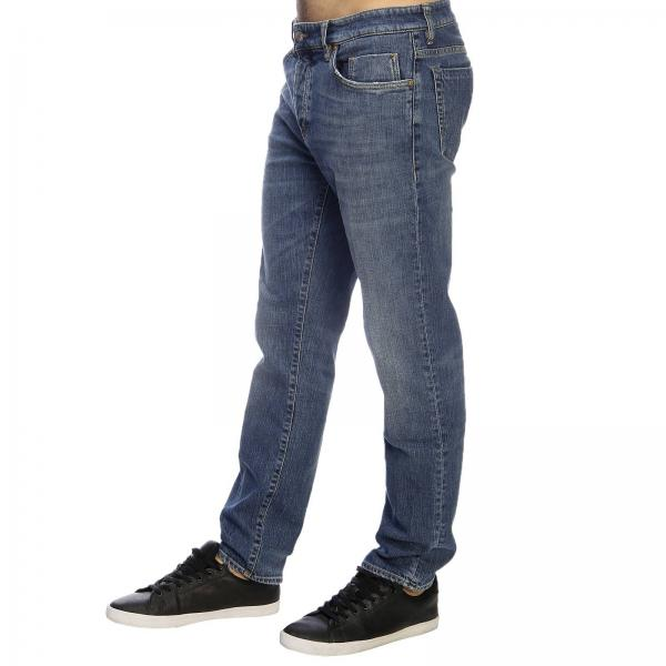 Fit Slim In 18 Hero Fondo Denim Jeans Con Used Tasche A 5 Stretch XuZikOP