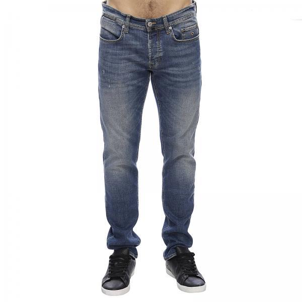 Stretch Jeans Fondo Fit Slim In E Con Micro Cotone Rotture 18 Used cT1K3ulFJ