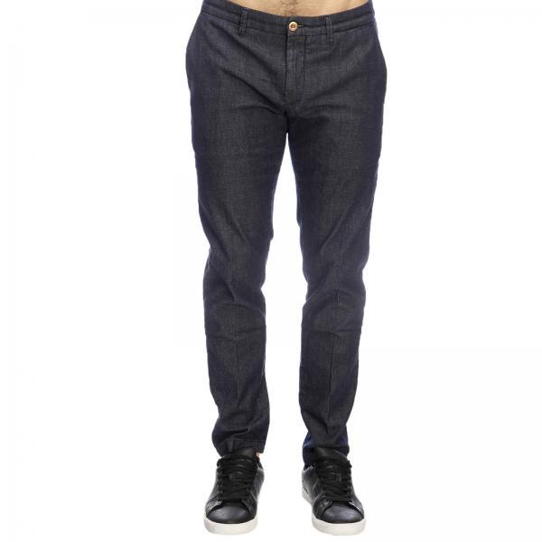 Siviglia Stretch Con 17 Pantalone Denim America In Used E Tasche Slim Fondo q5jALRc34