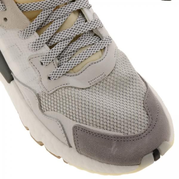 Nite Tecnico Jogger Con Gomma In Sneakers Adidas Tela Originals E Tessuto Suola Camoscio Tl1FJcK3
