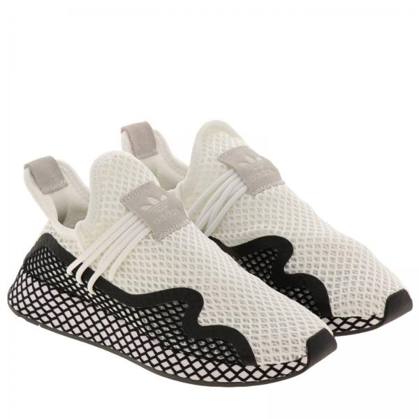 BiancoDeerupt Stretch Uomo Rete In Adidas Originals S Mesh Effetto Sneakers Bd7874 Bicolor I7yYbfgm6v