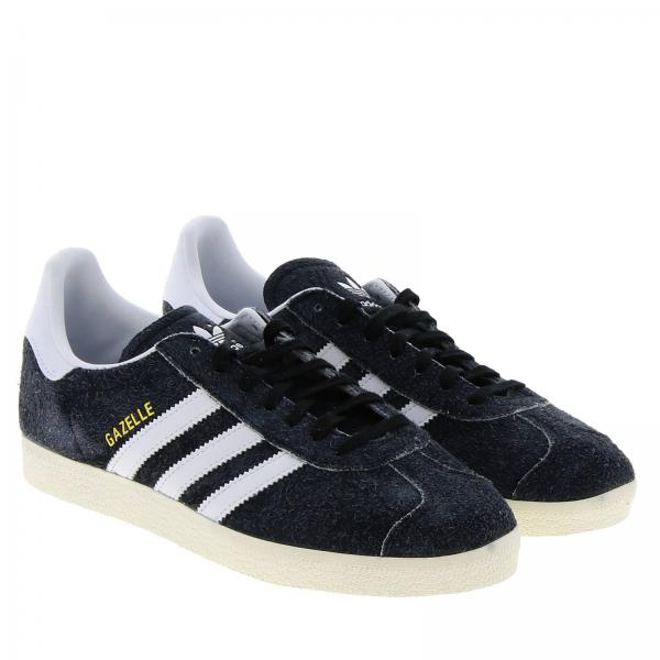 Classic Pelle Originals Gazelle Adidas In Denim E Sneakers Liscia zMVUpS
