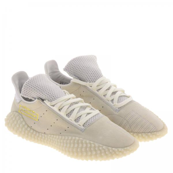 Sneakers Adidas E Stretch Originals Mesh Kamanda 01 Camoscio In ARjLq54c3