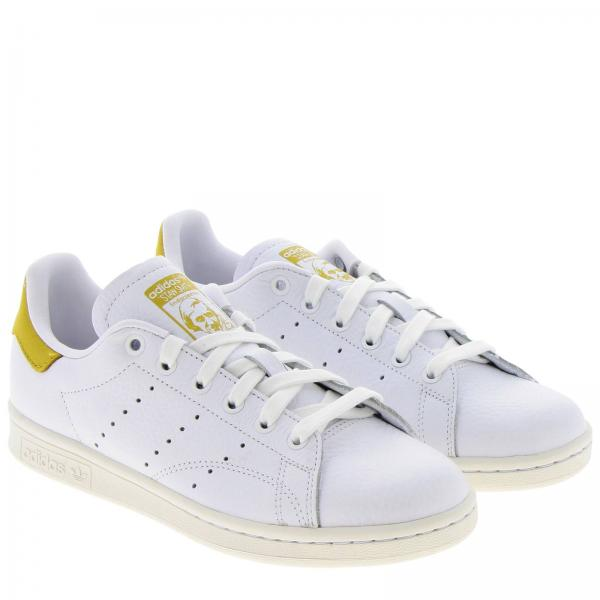 In Stan Smith Sneakers Pelle Adidas Liscia Originals dBorxWCe