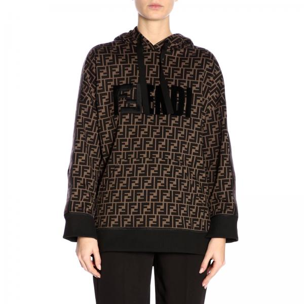 e7323bfaa6 Fendi Women s Brown Sweater