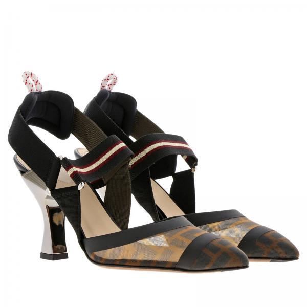 2019 Zapatos De 8j6851 Primavera Mujer A2d7giglio verano Tacón Fendi HBwHUqpR