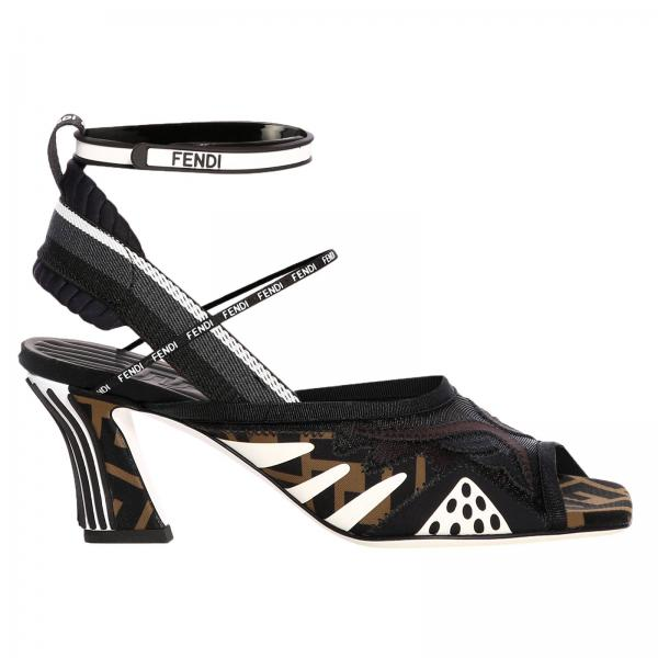 aa526953 Heeled Sandals Shoes Women Fendi