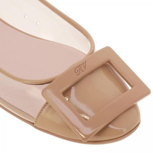 Flat Buckle Rv Pvc Ballerina Gommette E Vernice In Plastic lFcTJ1K