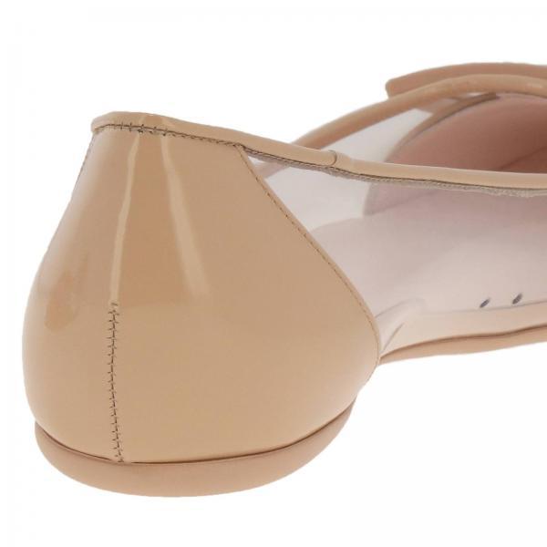 Gommette E Buckle In Ballerina Flat Rv Vernice Pvc Plastic rdCBoex