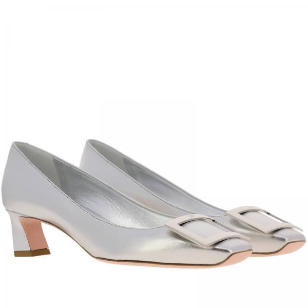 Roger verano Salón Plata Zapatos Rvw44815280 De Vivier Mujer Primavera Kacgiglio 2019 z1q5ptwR