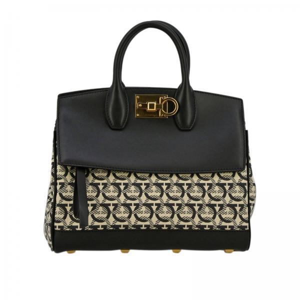 f3bf2b6a1021 Salvatore Ferragamo Women s Black Handbag