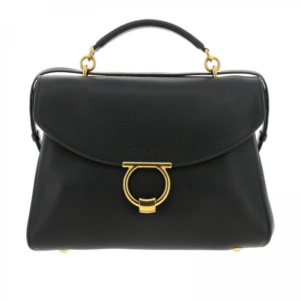 Handbag Women Salvatore Ferragamo Black