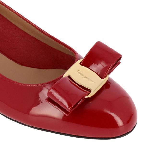 Zapatos De Ferragamo Salón Salvatore Primavera Rojo 591964 01b221giglio 2019 Mujer verano wfCSgrxq1w