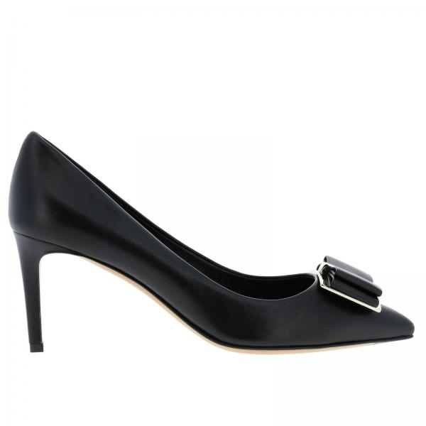 Zapatos Salón De Salvatore Ferragamo Mujer Negro Primavera verano 704655 2019 01p337giglio qqw15r